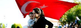 """Mehr als zwei Millionen Flüchtlinge im Land: Die Bundesregierung erklärt die Türkei zum """"Schlüsselland""""."""