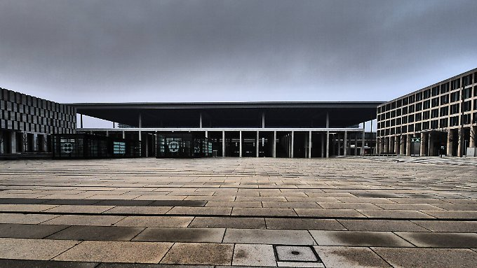 Teile des Terminals wurden gesperrt - eröffnet wurden sie ja ohnehin nie.