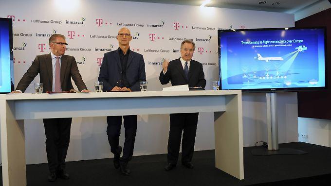 Internet über den Wolken: Lufthansa und Telekom kooperieren