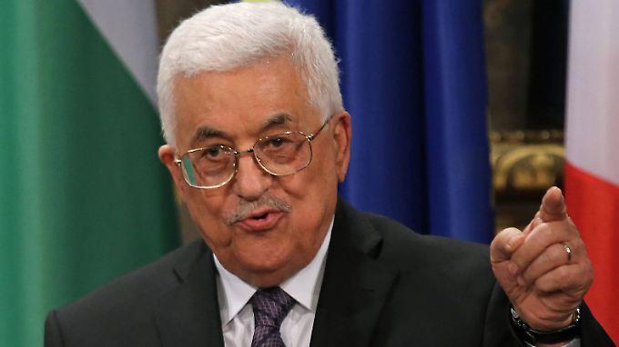 Palästinenserpräsident Mahmud Abbas befürchtet, dass sich die Situation in Jerusalem noch verschärfen wird.