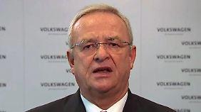 """Winterkorn-Statement zum VW-Skandal: """"Es tut mir unendlich leid"""""""