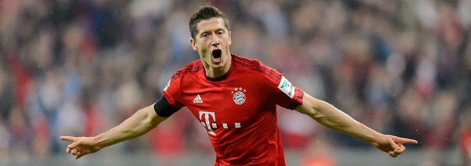 Ganz gut in Form: Robert Lewandowski.