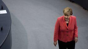 Verteilung von Flüchtlingen: Merkel besteht auf feste Quoten in der EU