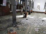 Dutzende Tote und Verletzte: IS bekennt sich zu Anschlag auf Moschee