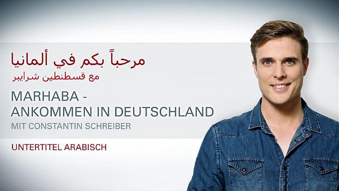 Untertitel: Arabisch: Marhaba - Ankommen in Deutschland