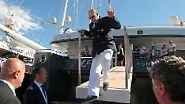 """""""Nimm mich mit, Kapitän, auf die Reise"""": Monaco protzt zu Wasser"""