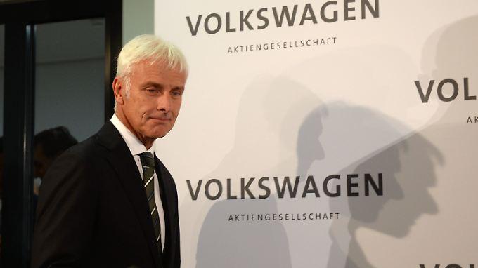 Neuer Chef, neue Richtung: Matthias Müller soll VW aus der Krise führen