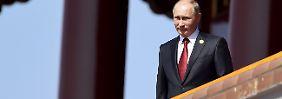 """Moskaus Nähe zu Assad: """"Putin gibt den Friedensstifter"""""""