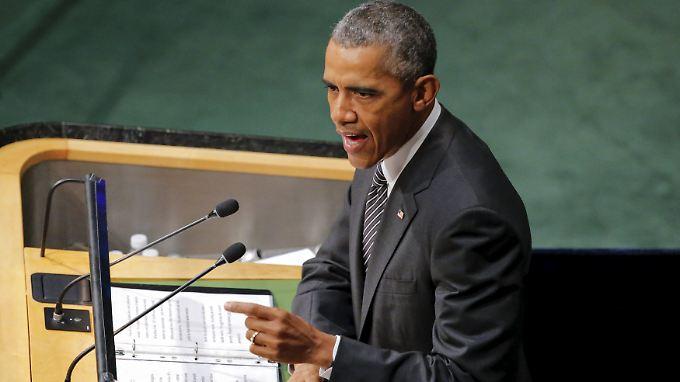 Obama hält es möglich, die Entwicklungsziele zu erreichen.