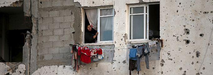 Wohnen und Leben im Gazastreifen: Zerstörte Infrastruktur, beschränkte Versorgung, kaum sinnvolle Perspektiven.
