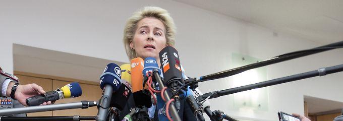 """Von der Leyen nennt die Lage in Kundus """"besorgniserregend""""."""