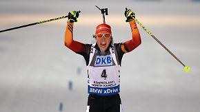 """Finalistin """"Champion des Jahres"""": Biathletin Laura Dahlmeier: Titel wäre """"super Wertschätzung"""""""