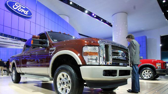 Ford F150 - beliebt wie eh und je.