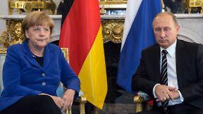 Zähe Friedensverhandlungen: Ukraine-Gipfel wird von Putins Luftkrieg in Syrien überschattet