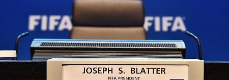 Seinen Posten will Joseph Blatter bisher nicht räumen.