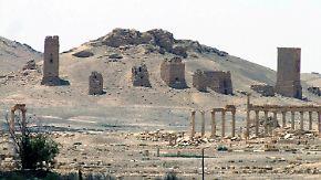 IS sprengt Palmyras Triumphbogen: Türkei kritisiert Russlands Syrien-Einsatz entschieden