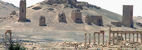 Die Säulen von Palmyra (Foto vom Mai 2015).