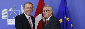 EU soll Kampf gegen PKK tolerieren: Erdoğan nennt Preis für gemeinsame Flüchtlingspolitik