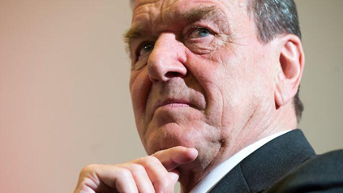 Gerhard Schröder rät zur teilweisen Lockerung der Russland-Sanktionen.