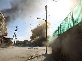 Fassbomben sind für viele Syrer die größte Bedrohung.