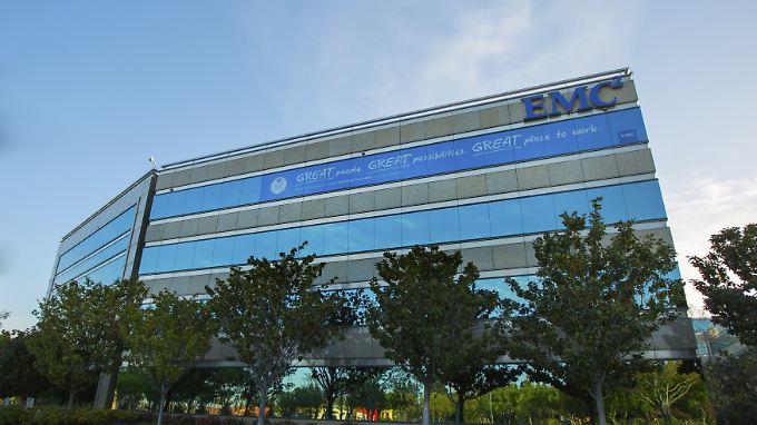 EMC-Hauptquartier in Santa Clara/Kalifornien.