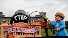 Supranationales System: Das fürchten Kritiker an TTIP