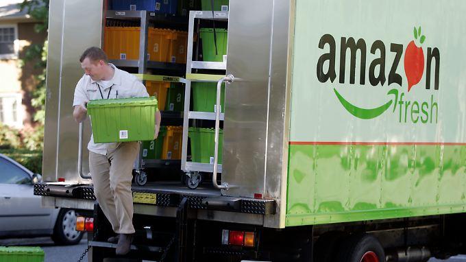 """""""Amazon Fresh"""" gibt es in den USA schon seit 2007."""