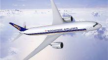Nonstop von Singapur in die USA: Airbus baut das Langstrecken-Wunder