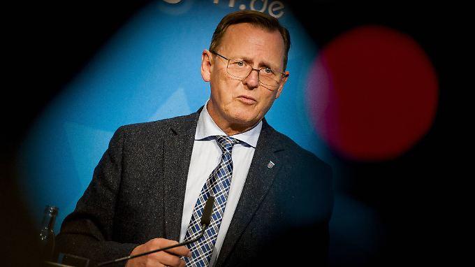 Bodo Ramelow hatte Vorwürfe, wonach die Polizei Informationen vertuscht, zuletzt zurückgewiesen.