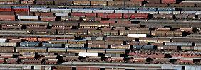 Viele Transporte sind unrentabel: Bahn will Güterverkehr einschränken
