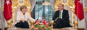 """Geschäfte mit dem """"Despoten"""" Erdogan: Opposition warnt Merkel vor """"schmutzigem Deal"""""""