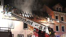 Tragödie in Pforzheim: Vier Menschen sterben bei Dachstuhlbrand
