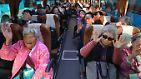 Für rund 400 Südkoreaner ist es eine Reise voller Vorfreude. Die seit über 60 Jahren getrennten Familienmitglieder dürfen sich zwei Tage mit ihren Verwandten im Norden treffen.