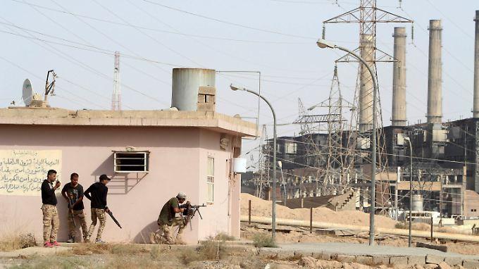 Vor wenigen Tagen hat die irakische Armee den größten irakischen Ölkomplex Baidschi von den Islamisten zurückerobert.