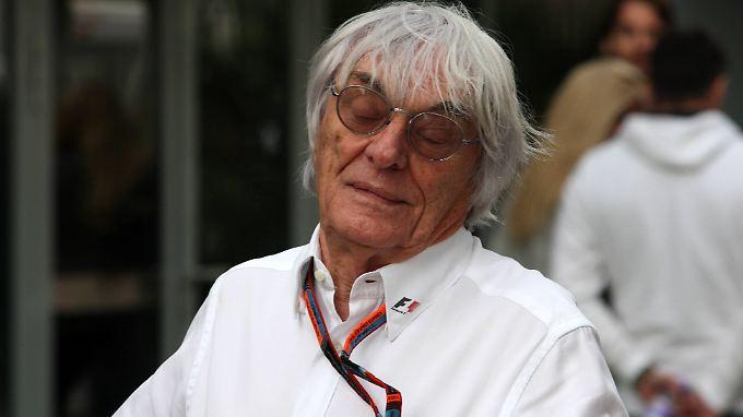 Tja, wird wohl doch nix mit dem neuen Qualifying-Format - Bernie Ecclestone hätte damit kein Problem.