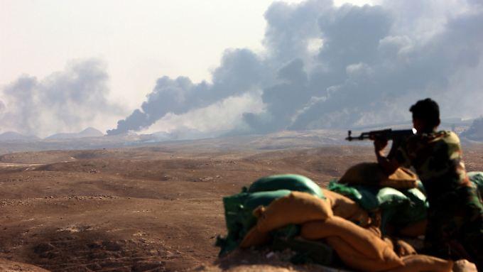 Der IS kontrolliert weite Teile des irakischen Staatsgebietes.
