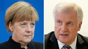 """Maßnahmen der Notwehr"": Seehofer stellt Merkel Ultimatum bei Flüchtlingsfrage"