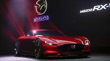 Der Mazda RX-Vision gehört zu den schärfsten Studien auf der Tokyo Motor Show.