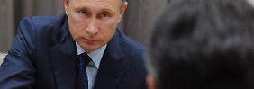 Gabriel zu Besuch bei Putin: Moskau will nicht dauerhaft in Syrien kämpfen