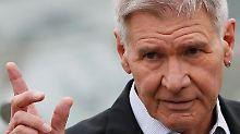 Harrison Ford hatte Glück im Unglück - es geht ihm wiederFoto: Yuri Kochetkov