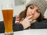 Hilft warmes Bier wirklich?: Erkältungsmythen im Faktencheck