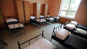In der Unterkunft in Drahonice leben Flüchtlinge in einem ehemaligen Gefängnis.