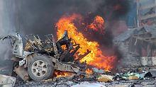 Terroranschlag in Mogadischu: Al-Schabaab stürmen Hotelanlage
