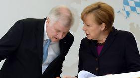 SPD strikt dagegen: Merkel und Seehofer einigen sich auf Transitzonen