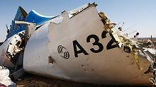 """Bombenattentat auf Airbus über Sinai: """"IS-Anschlag ist wahrscheinlich"""""""