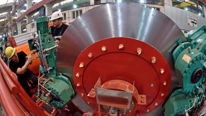 Die Nachfrage im Inland hilft Deutschlands Maschinenbauern