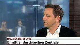 """Timo Latsch zur Razzia beim DFB: Umgang mit der Krise """"ist eine einzige Katastrophe"""""""