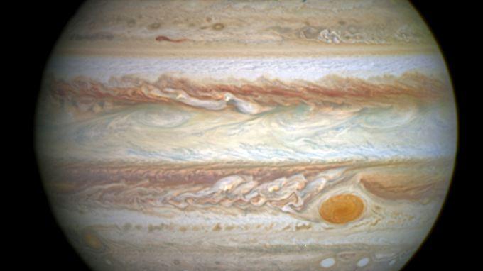 Der Jupiter ist mit einem Durchmesser von rund 143.000 Kilometern der größte Planet des Sonnensystems.