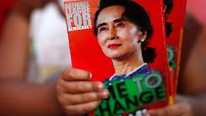 Wahlkampf in Myanmar: Aung San Suu Kyi verspricht den Wandel