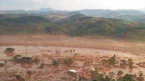 Dammbruch in Bergwerk: Giftige Schlammlawine tötet 17 Menschen in Brasilien